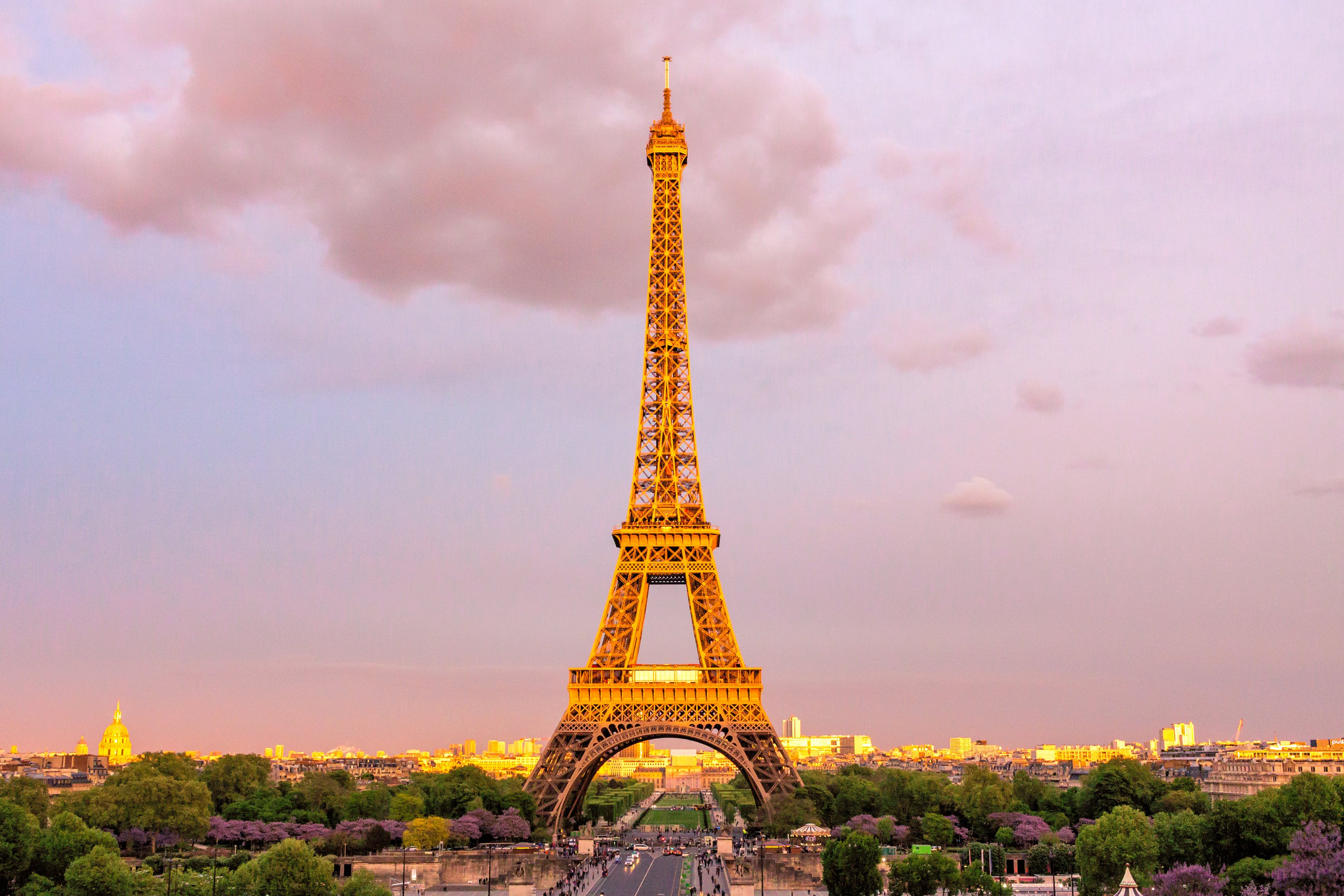 The Eifel Tower in France